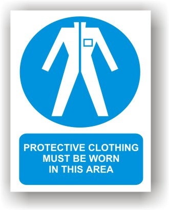 Protective Clothing Must Be Worn (O012)