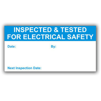 Inspected for Safety (D030)