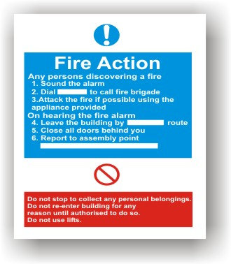 Fire Action (F015)