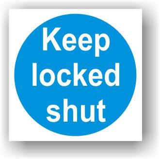 Keep Locked Shut (G027)
