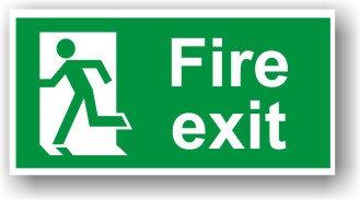 Fire Exit Left (H009)