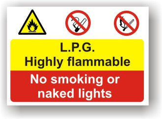 L.P.G Highly Flammable (I004)