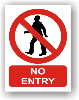 No Entry (R008)