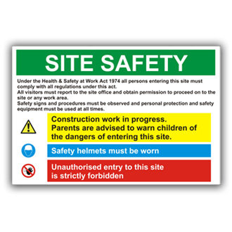 Site Safety (T001)