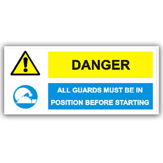 Danger All Guards Must Be In Position (T010)