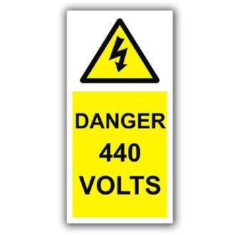 Danger 440 Volts (D005)