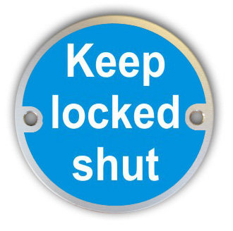 Keep Locked Shut (G013)