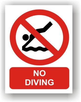 No Diving (R012)