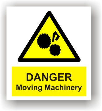 Danger Moving Machinery (W010)