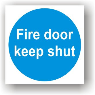 Fire Door Keep Shut (G024)