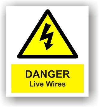 Danger Live Wires (W015)