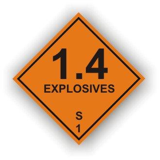1.4 Explosives S (M035)