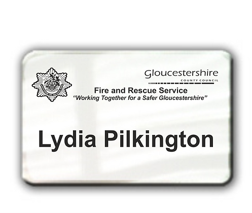 Rectangle Namebadge Large (B002)