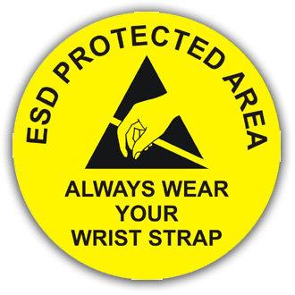 ESD Protected Area Wrist Strap (E031)