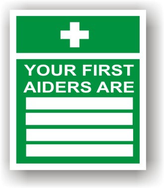 First Aiders Are (J007)