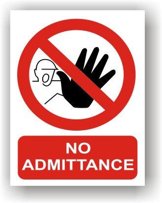 No Admittance (R004)