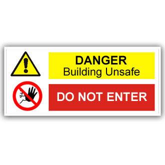 Danger Building Unsafe (T021)