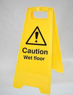 Caution Wet Floor (A011)