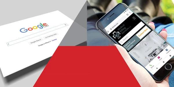 Pyramid between google and phone becoming transparent