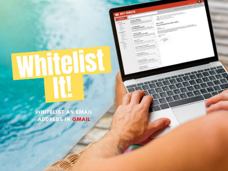 Whitelist an email address (GMail).