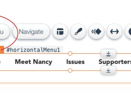 Dynamic page–Editor X (Wix).