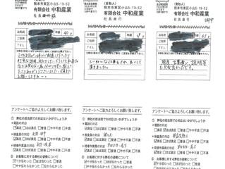 2019年5月お客様アンケート