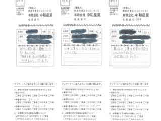 2019年7月お客様アンケート