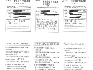2019年2月お客様アンケート