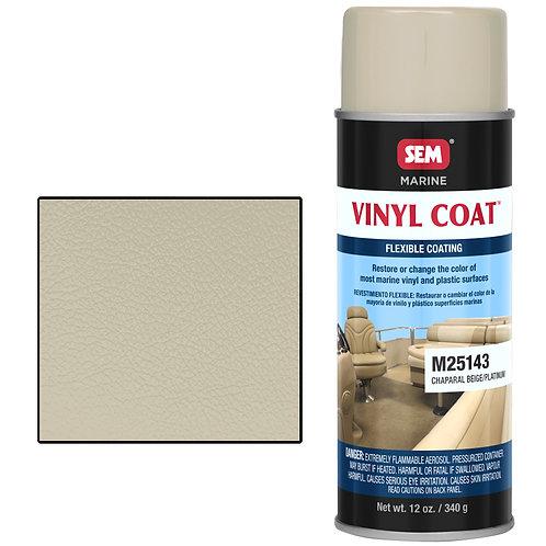 sem chaparal beige/platinum vinyl coat