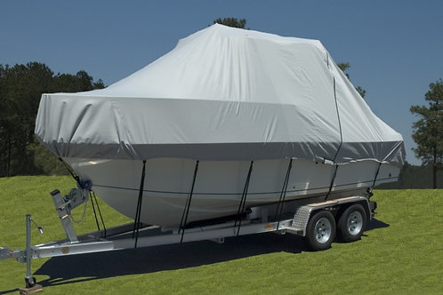Specialty Cover for Boats with a Hard Top or T-Top 22 foot