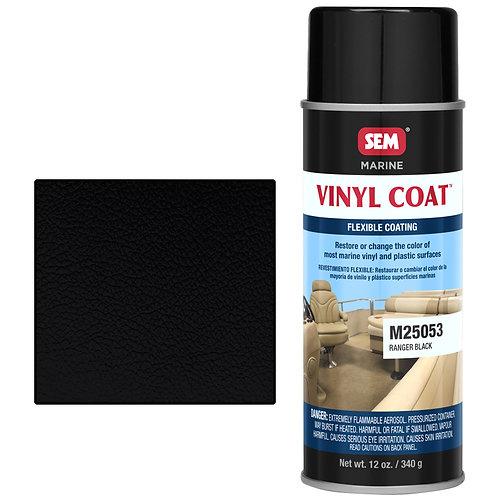sem ranger black vinyl coat
