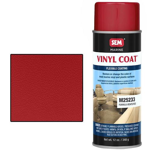 sem formula boats red vinyl coat