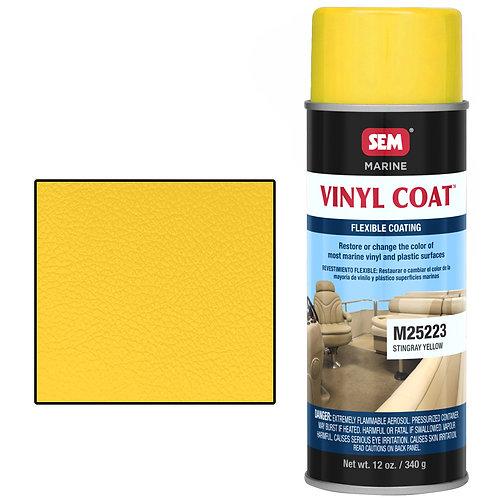 sem stingray yellow vinyl coat