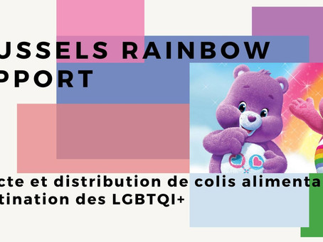 Collectes solidaires de Brussels Rainbow Support