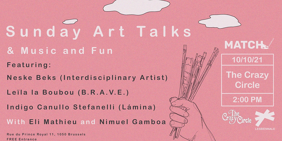 Match Sunday Art talks ~ Lesbiennale