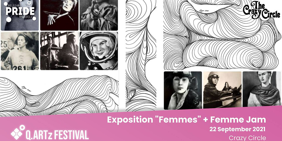 """Opening exposition """"Femmes"""" & Femme Jam"""