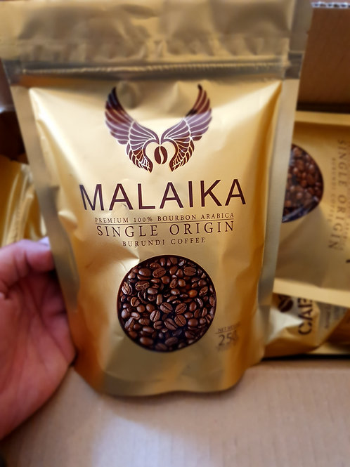 Malaika 250 g graines de café - Single Origin Burundi