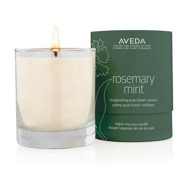 rosemary mint vegan soy wax candle