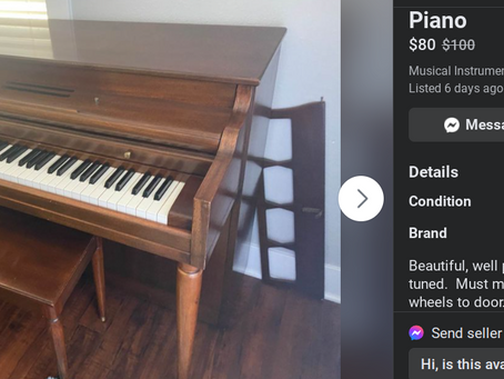 Not all pianos are created equally