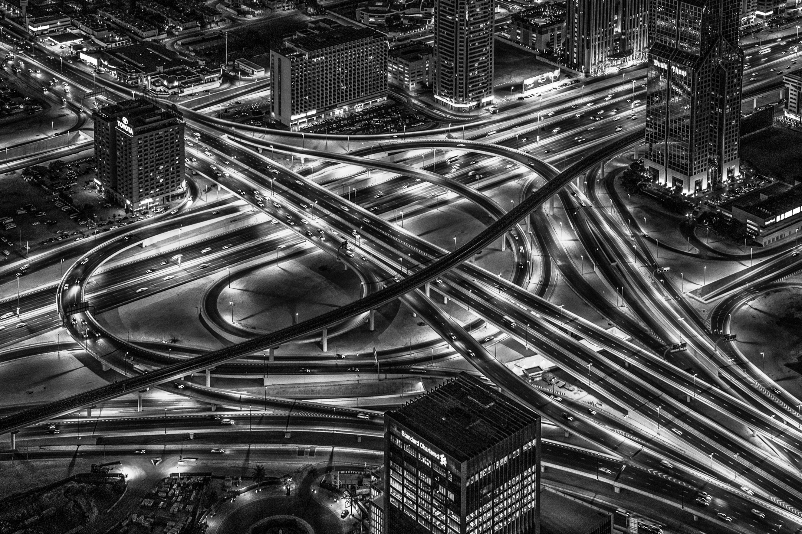 Dubai intersection