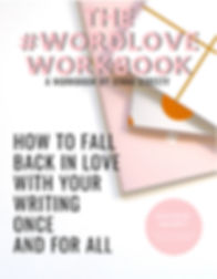 #WordLove Workbook Cover By Jenna Streey