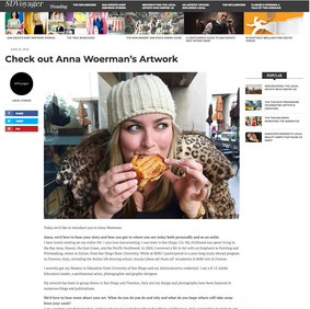 ARTICLE: Check out Anna Woerman's Artwork SD Voyager, June 2018