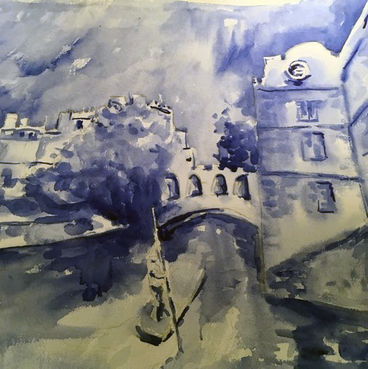 Blue study Thames
