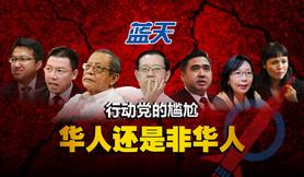 行动党的尴尬,华人还是非华人