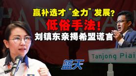 """赢补选才""""全力""""发展低俗手法,刘镇东亲揭希盟谎言"""
