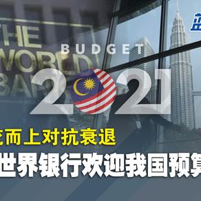 逆流而上对抗衰退,世界银行欢迎我国预算案