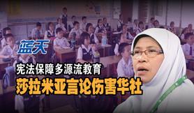 宪法保障多源流教育,莎拉米亚言论伤害华社
