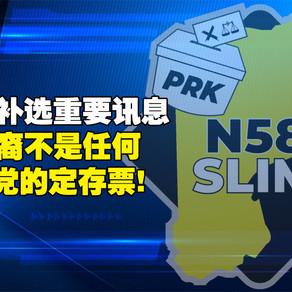 仕林补选重要讯息——华裔不是任何政党的定存票!
