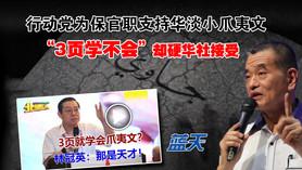 """行动党为保官职支持华淡小爪夷文,""""3页学不会""""却硬华社接受"""