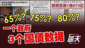 65%?75%?80%?一个政府3个国债数据